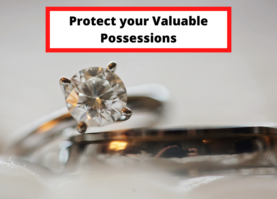 Four Tips to Protect Your Possessions with Valuable Items Insurance Coverage